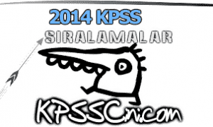 2014 KPSS Branş Sıralaması