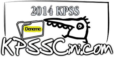 2014 KPSS Denemeleri indir