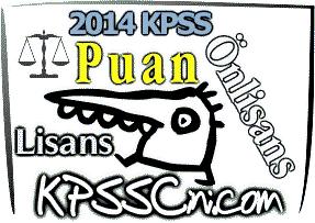 2015 KPSS Önlisans Puan Hesaplama
