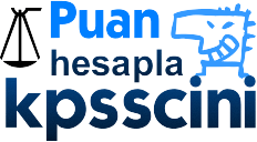 KPSS Önlisans Puan Hesaplama 2016