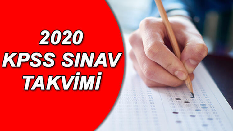2020 KPSS Ne Zaman?? 2020 KPSS Tüm Sınavların Tarihleri!