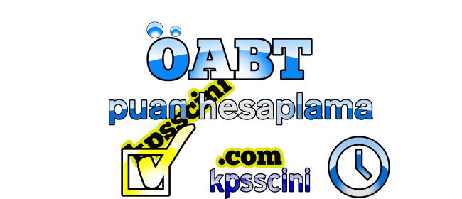 ÖABT Puan Hesaplama Online (Güncel)