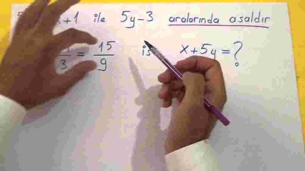 Asal Sayılar Soru Çözümleri