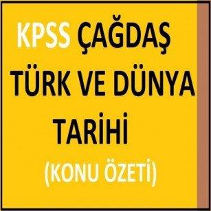 çağdaş Türk Ve Dünya Tarihi Ders Notları Pdf Indir Renkli