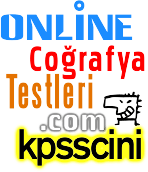 KPSS Coğrafya Testi Çöz (TG Deneme Soruları)