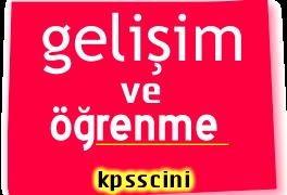 KPSS Gelişim ve Öğrenme Soruları Online Çöz 4