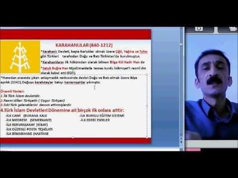 İlk Müslüman Türk Devletleri Video Konu Anlatımı