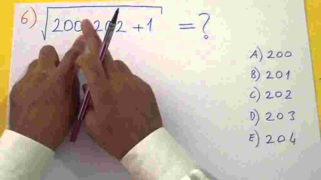 Köklü Sayılar Örnek Soru Çözümleri
