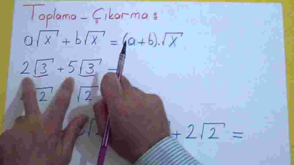 Köklü Sayılar Videolu Konu Anlatımı
