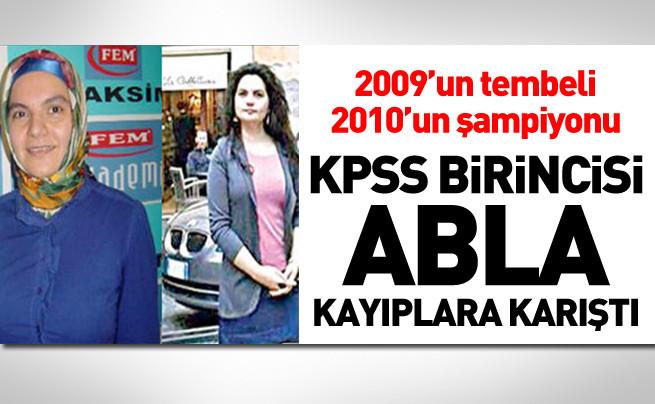 2010 KPSS Birincisinin Şaşırtan Pozlar!
