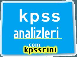 2015 KPSS Ortalamalar ve Standart Sapma Değerleri
