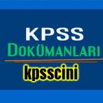 2015 KPSS Güncel Bilgiler 8 Çözümlü Deneme PDF İNDİR