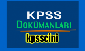 KPSS Vatandaşlık Ders Notları PDF İNDİR!