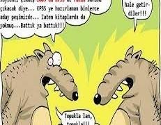 KPSS Komik Karikaturler Resimler Fotoğraflar
