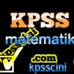 KPSS Matematik Konu Anlatım Kitabı ve Soru Bankası PDF