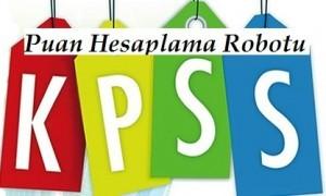 2015 KPSS Puan Hesaplama Robotu ONLİNE