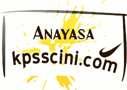 Online KPSS Anayasa Testi Çöz
