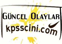2015 KPSS Güncel Bilgiler Testi Online Çöz