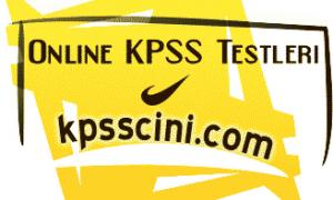 Online KPSS Testleri Çöz (Güncel)