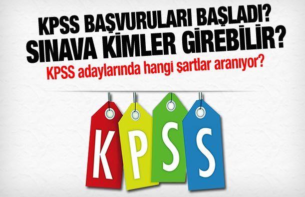 KPSS'ye Kimler Başvurabilir?