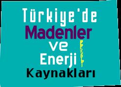 Türkiye'de Madenler ve Enerji Kaynakları Testi Çöz