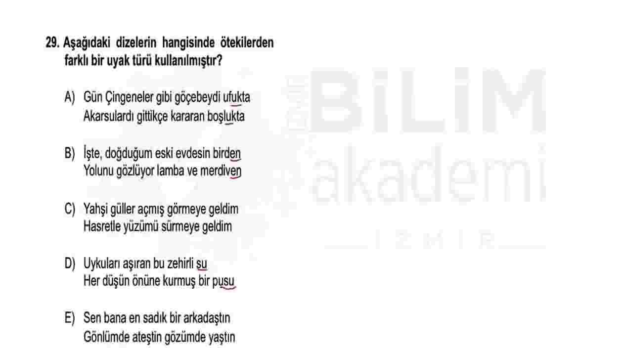 ÖABT Türkçe Videolu Soru Çözümleri