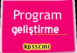 KPSS Program Geliştirme Testi Çöz 3