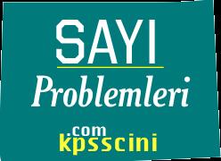 Sayı Problemleri Testi Çöz 1