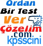 Ordan Bir Test Ver Çözelim Uygulaması