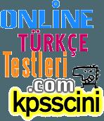 18 Soruluk KPSS Türkçe Genel Konu Tarama Testi Çöz
