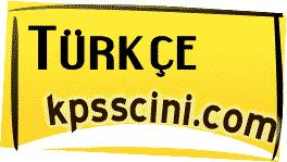 Online KPSS Türkçe Denemesi Çöz 6