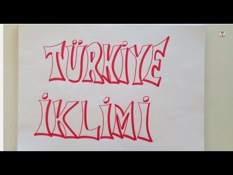 Türkiye'de İklim Konu Anlatımı