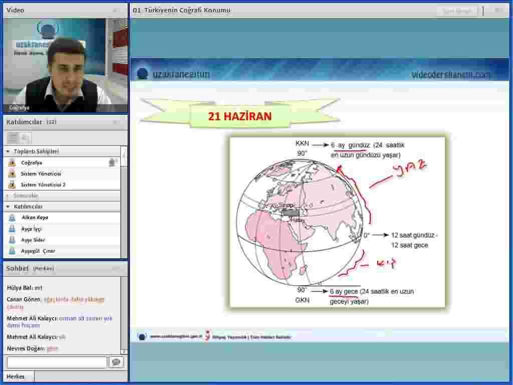Türkiyenin Coğrafi Konumu Videolu Anlatım