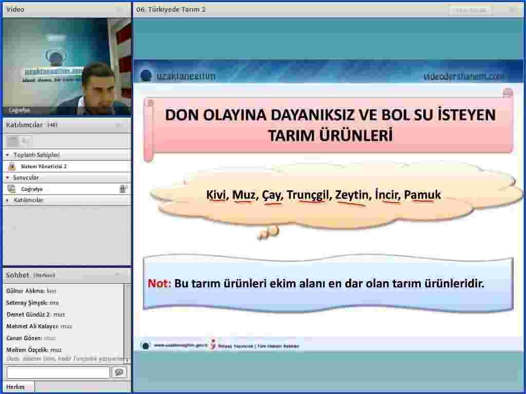 Türkiye'nin Ekonomik Coğrafyası Konu Anlatımı