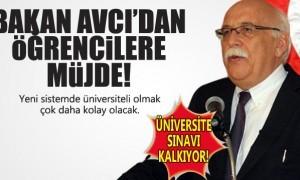 Üniversite Giriş Sınavları Kaldırılıyor!
