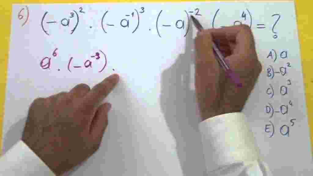 Üslü Sayılar Soruları ve Çözümleri